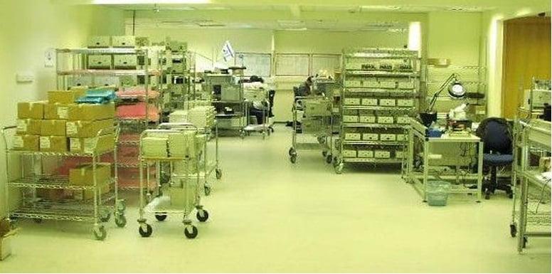 ציפוי כרום ניקל כול הסוגים חדר הייטק T107 1 - עגלות רשת ציפוי כרום ניקל כול הסוגים חדר הייטק T107