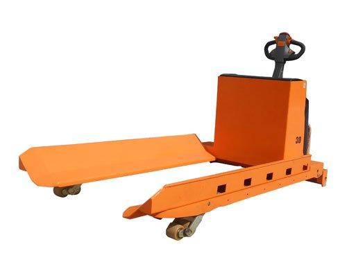 משטחים חשמלית להרמת גלילים - עגלת משטחים חשמלית להרמת גלילי נייר למשקל של עד 3 טון דגם-XPK30-2