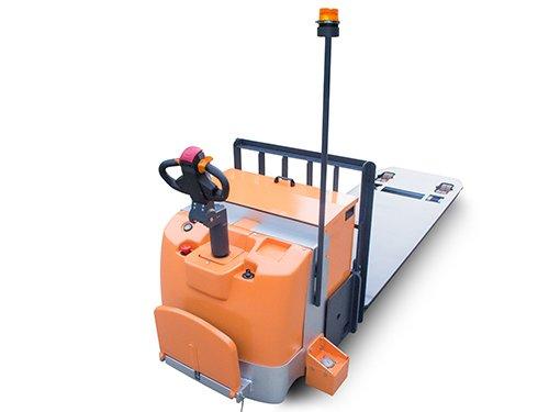 פלטפורמה 7 טון להובלת סחורות - עגלה חשמלית 7 טון פלטפורמה דגם- EPS
