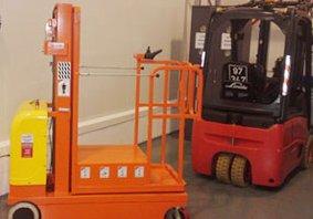 אספקת מתקן הרמה נוסע חשמלי למפעל בצפון - פרויקטים מיוחדים