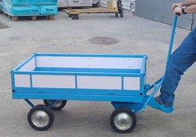 אספקת עגלת משא 4 גלגלים - פרויקטים מיוחדים