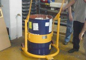 אספקת עגלת שינוע והיפוך לחביות למפעל קרית גת - פרויקטים מיוחדים