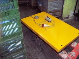 במת הרמה חשמלית נייחת 500 עד 3000 קג S103 3