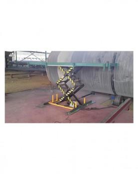 במת הרמה 1000 קג הספקה למפעל לצינורות