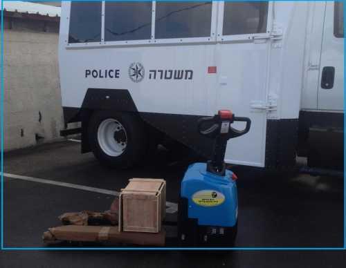 הספקת עגלה חשמלית משטרת ישראל