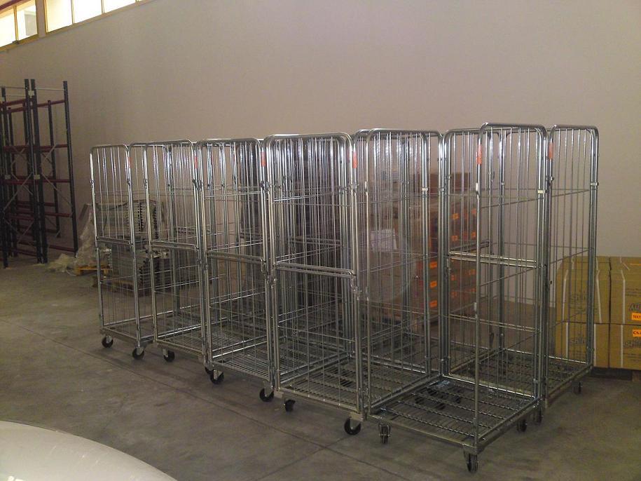 הספקת עגלות כלוב רשת לחברה להפצה