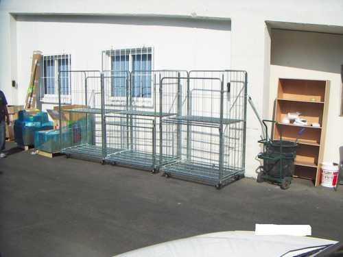 הספקת עגלות כלוב רשת לחברת הייטק