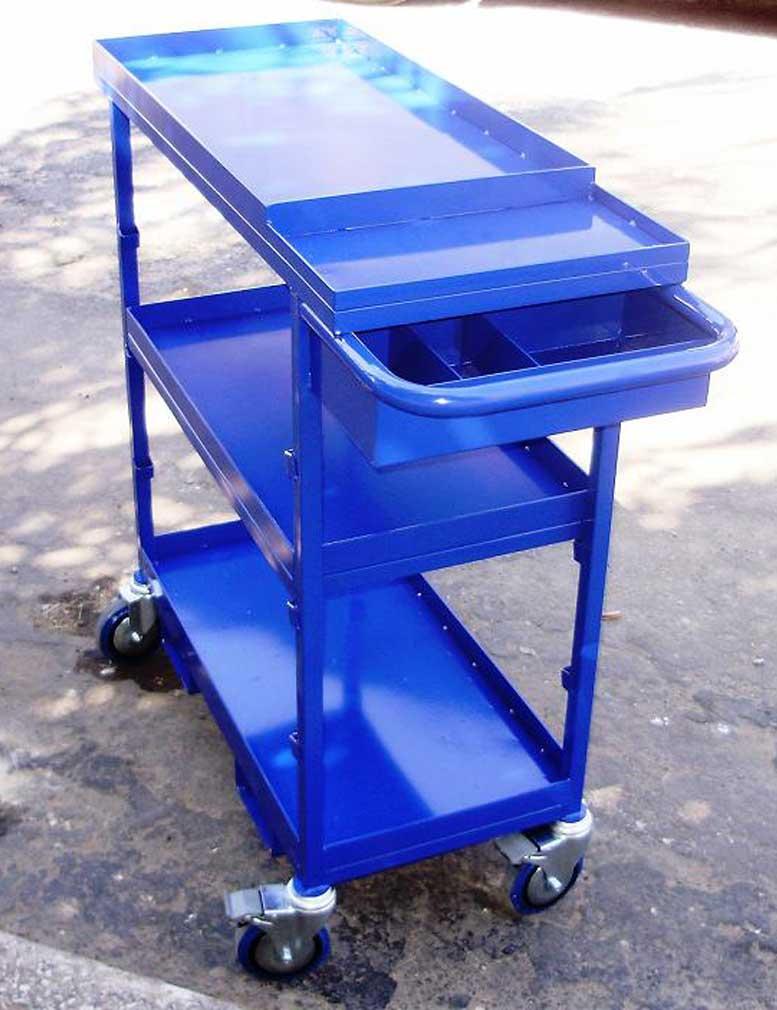 ייצור עגלת שרות למוסכים לפי בקשת לקוח DE101