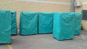 כיסוי לעגלות כלוב רשת לפי הזמנה C-117 3