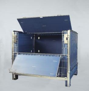 כלוב מתכת נייח מאובטח Security metal cage C-118 1