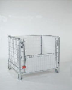 כלוב מתכת נייח מאובטח Security metal cage C-118 2