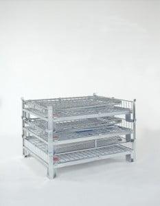 כלוב מתכת נייח מאובטח Security metal cage C-118 3