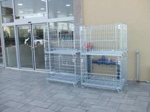 כלוב רשת נייח לאכסון C-114