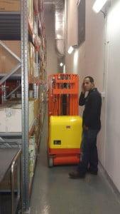 מאספת הזמנות הרמה חשמלית נסיעה חשמלית DR101 3