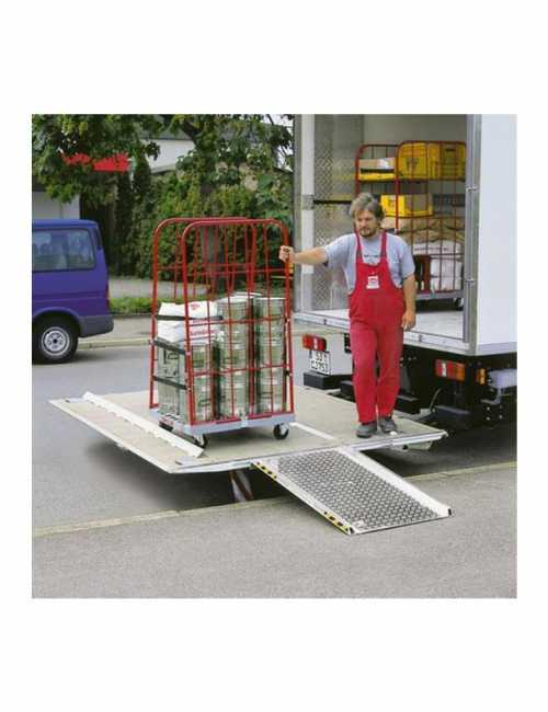 משווה גובה לרמפה למשאית Y