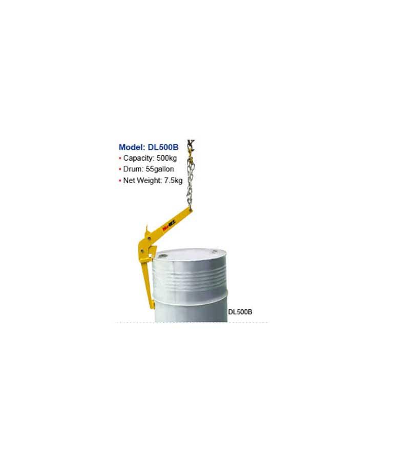 מתקן להרמת חביות על ידי מנוף הוא מלגזה 106 GR