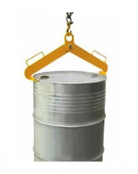 מתקן להרמת חביות עם שרשרת במצב אנכי GR