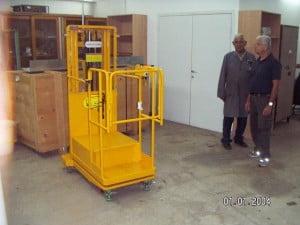 מתקני הרמה הרמה חשמלית דחיפה ידנית DR102 4