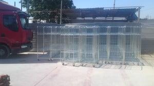 עגלות כלוב עומס מקסימלי 500 קג - Roll Container C100 2