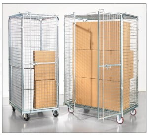 עגלות כלוב רשת מאובטח גדול Security trolley C 116 1 300x273 - עגלות כלוב רשת מאובטח גדול Security trolley C-104