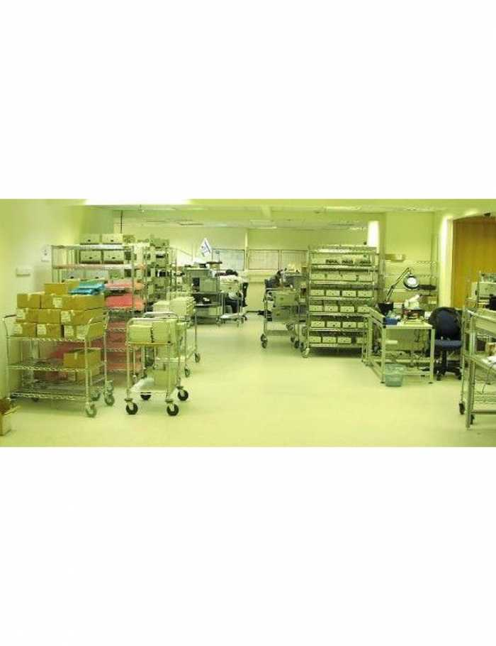 עגלות ציפוי כרום ניקל כול הסוגים חדר הייטק T