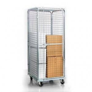 עגלת כלוב מאובטח C-102-Roll Container 1