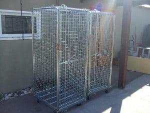 עגלת כלוב מאובטח C-102-Roll Container 3