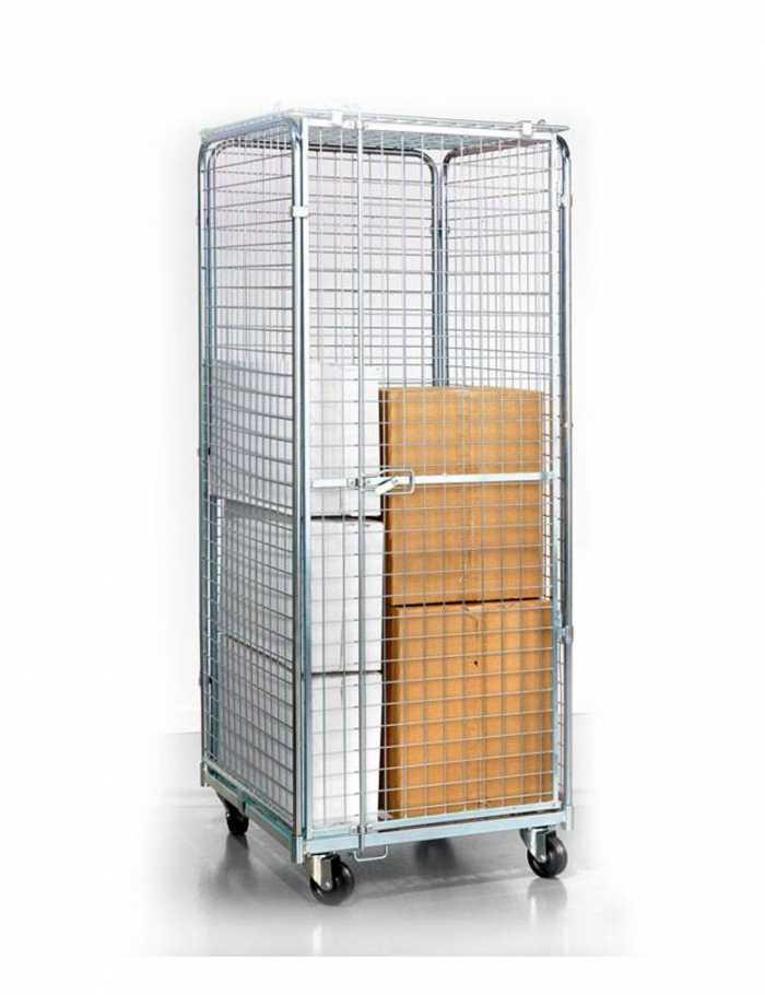 עגלת כלוב מאובטח  C  Roll Container