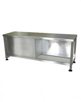 שולחן נירוסטה גדול AC109