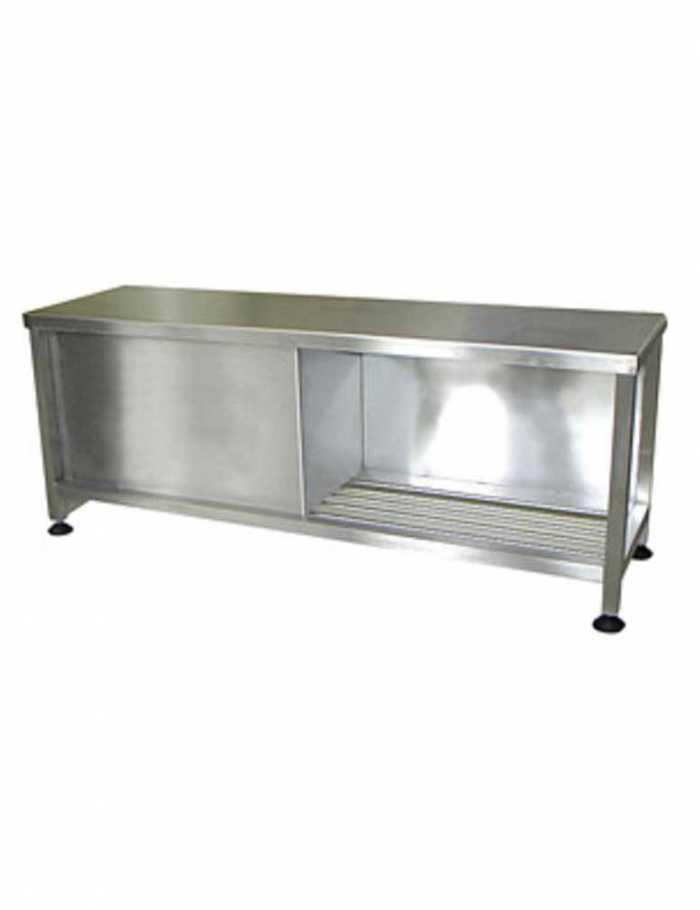 שולחן נירוסטה גדול AC