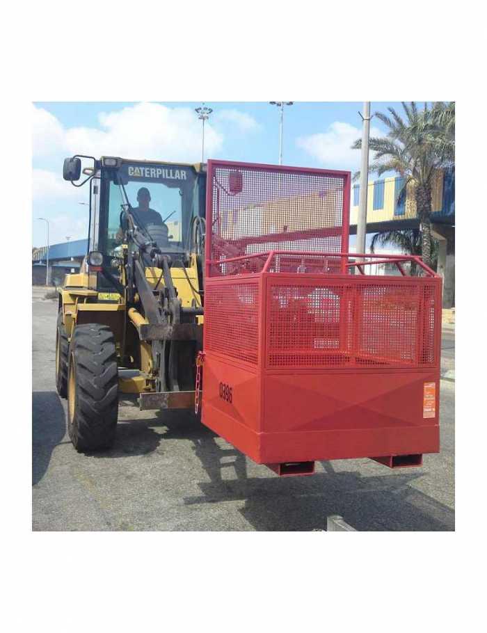 תא עבודה בגובה הספקה נמל אשדוד