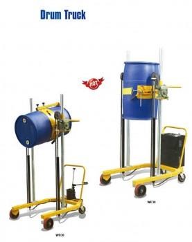 מתקן להרמה ושפיכה של חביות מתכת ופלסטיק דגם -WB30