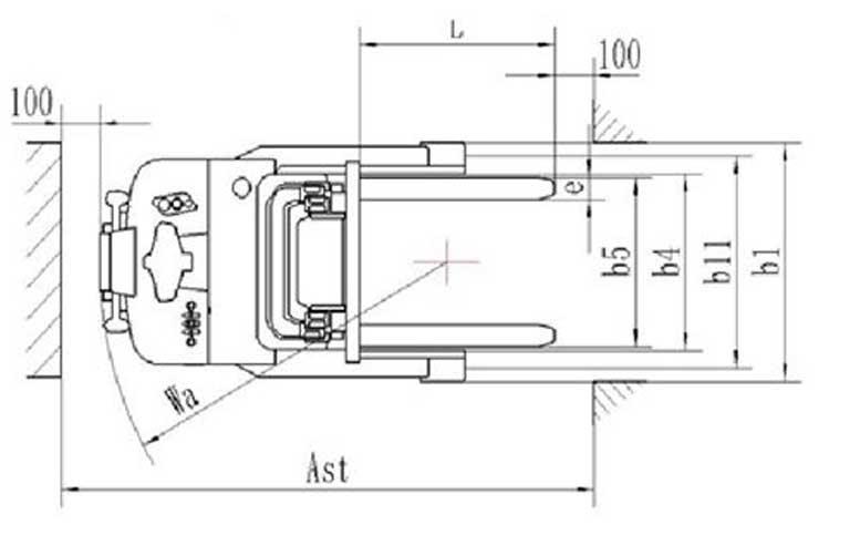 דגם-חדשPS-15RM-מלגזה-אדם-הולך