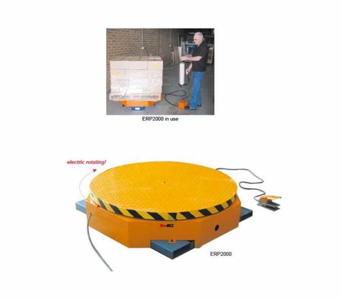 משטח לעטיפת משטחים חשמלי