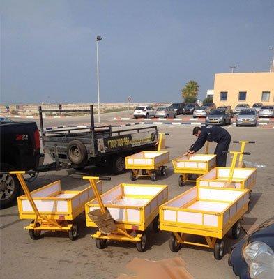 הספקת עגלות משא משרד הביטחון. 1 - הספקת עגלות משא משרד הביטחון