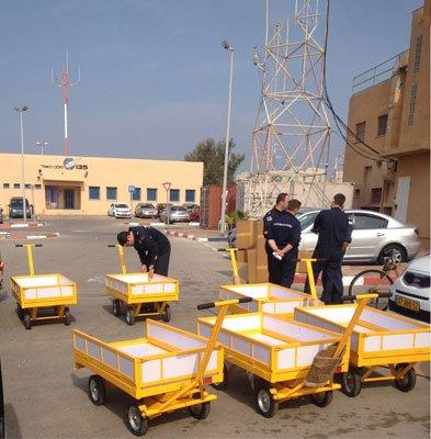 הספקת עגלות משא משרד הביטחון. 3 - הספקת עגלות משא משרד הביטחון