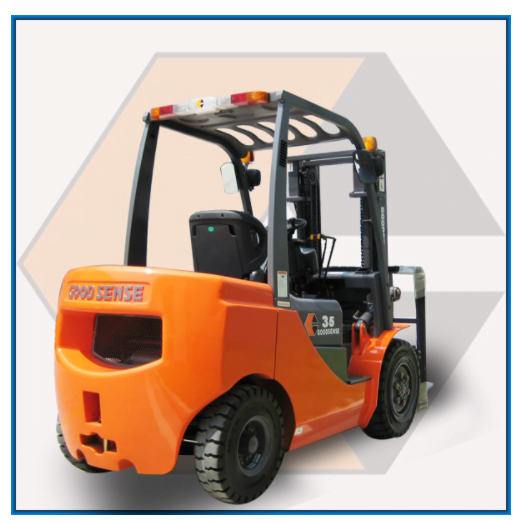 מלגזה דיזל 3.5 טון כולל מנוע איסוזו - מלגזה דיזל מנוע ISUZU למשקל 3.5 טון