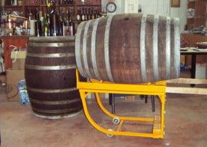 עגלת שינוע חביות יין ST