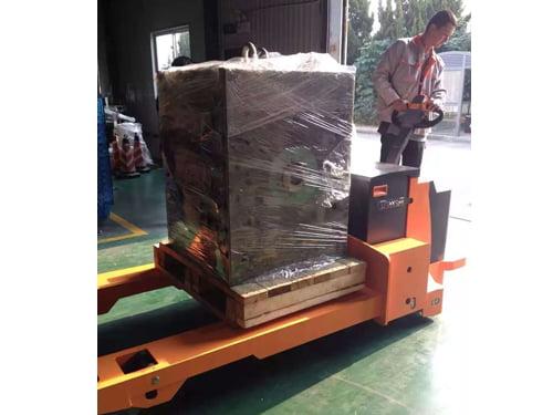 עגלת משטחים חשמלית למשקל של עד 8 טון