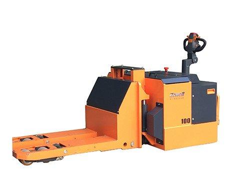 עגלת משטחים חשמלית להרמה ונסיעה של משקל של 10 טון.