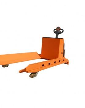 עגלת משטחים חשמלית להרמת גלילי נייר למשקל של עד 3 טון דגם-XPK30-2