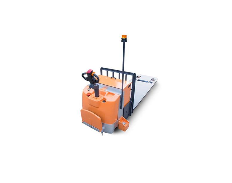 עגלה חשמלית 7 טון פלטפורמה דגם- EPS