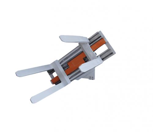 מזלג מסובב מהדק למלגזה 1 500x433 - מזלג מסובב מהדק למלגזה
