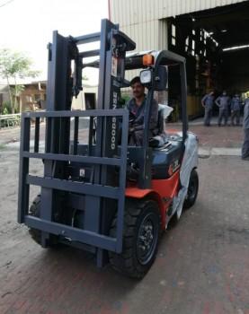 מלגזת דיזל אספקה פרויקט חול
